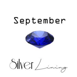 September Saffier ( koningsblauw )