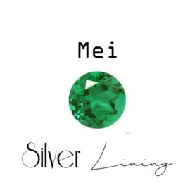 Mei Smaragd ( donkergroen )