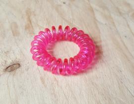 Roze Haar elastiek
