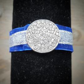 Lint armand kobalt blauw/zilver