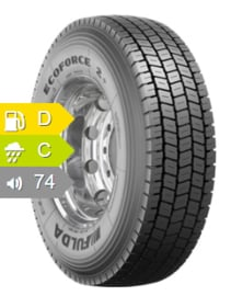 Fulda Ecoforce 2+ 315/70R22.5 154L152M TL 3PSF