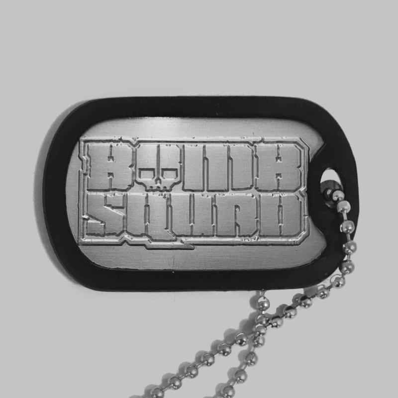 BOMBSQUAD Dog tag