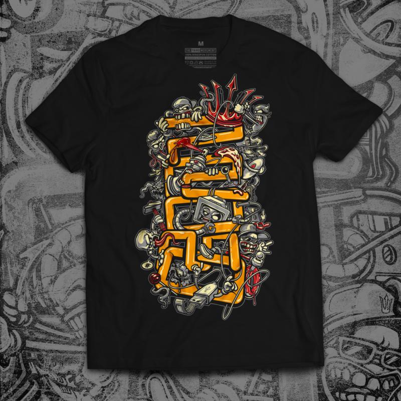 Promo 'Freakz' T-shirt