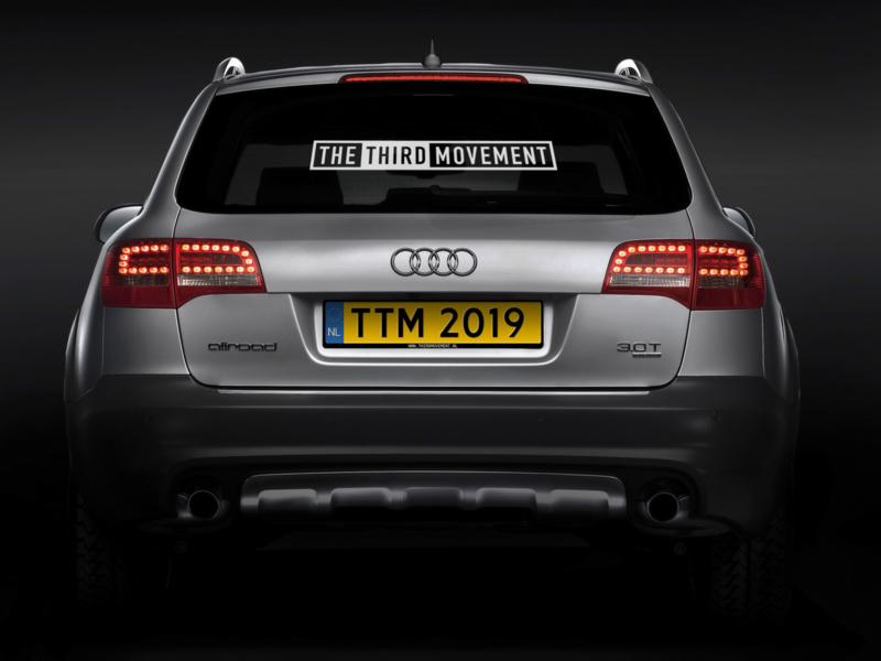 TTM Car sticker