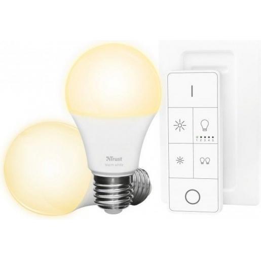Klik Aan Klik Uit | Starter set | 2 led lampen + afstandsbediening