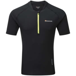 Montane Fang Zip T-Shirt Black mn