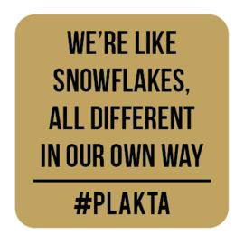 W008 | We're snowflakes