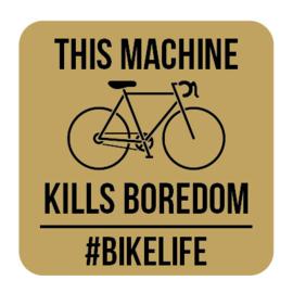 A008   This machine kills boredom
