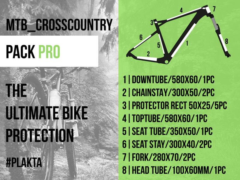 MTB crosscountry PACK PRO