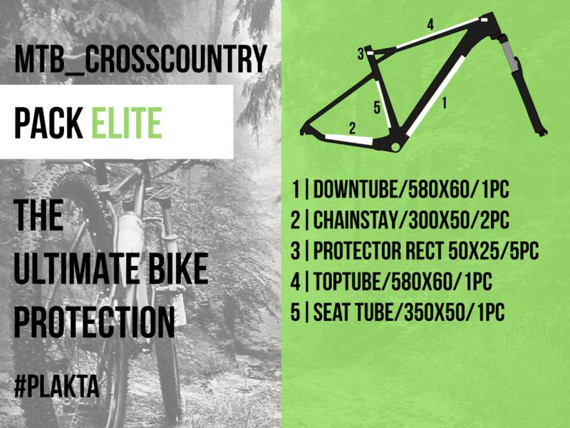 MTB crosscountry PACK ELITE