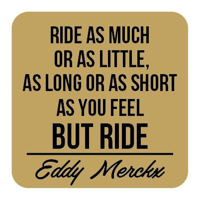P007 | Eddy Merckx  -Ride
