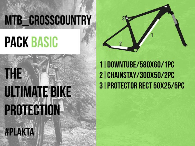 MTB crosscountry PACK BASIC