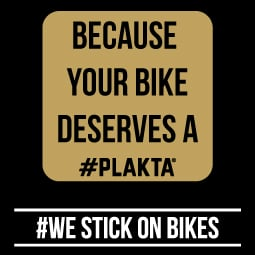 Every bike deserves a #PLAKTA