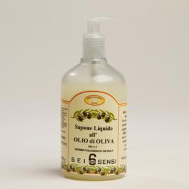 Vloeibare zeep met olijfolie
