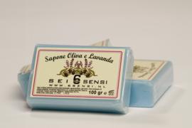 100 gram zeep met olijfolie en lavendel
