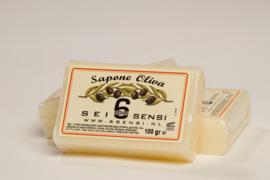100 gram zeep met olijfolie