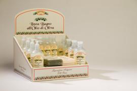 Display met neutrale olijfolieproducten