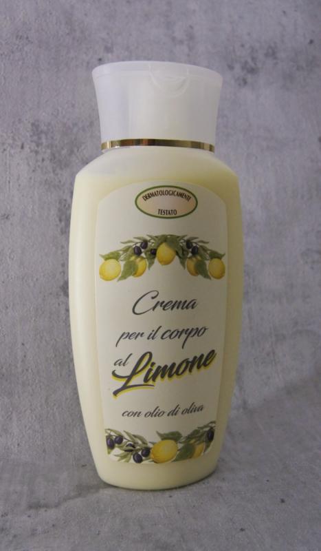 Bodylotion met olijfolie & citroen
