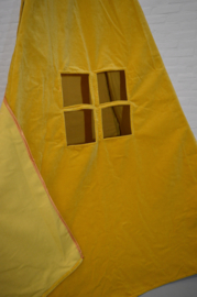 Tipi tent geel