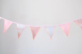 Geboortevlaggetjes - roze