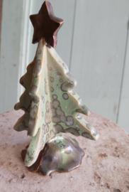 Kerstboompje in kristalglazuur