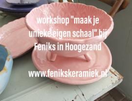 """Workshop""""maak je eigen schaal"""""""