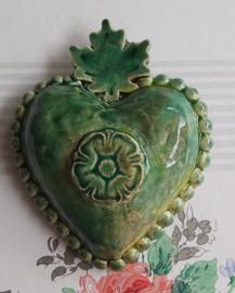 Mooi groen hart !