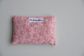 Valeriaankussen uiltjes roze