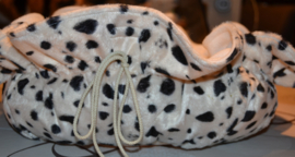 Katten mandje Dalmatian wit-zwart