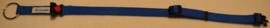 Halsband Blauw effen