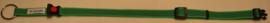 Halsband Groen met zwarte strepen