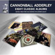 CANNONBALL ADDERLY - EIGHT CLASSIC ALBUMS cd box