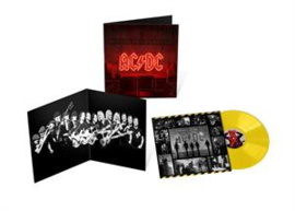 ACDC - POWER UP yellow vinyl, release 13 november