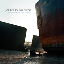 BROWNE, JACKSON DOWNHILL FROM EVERYWHERE