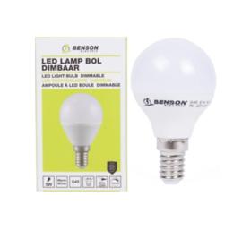 Led lamp bol G45 5W E14 dimbaar