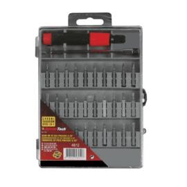 Schroevendraaier precisie 32 delig + plastic case