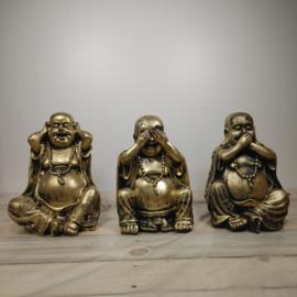 Horen Zien Zwijgen Boeddha 3 Dlg