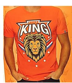 Shirt Oranje -King Oranje