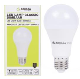 Led lamp classic A60 12W E27 dimbaar