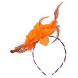 Diadeem - oranje haarband verschillende soorten
