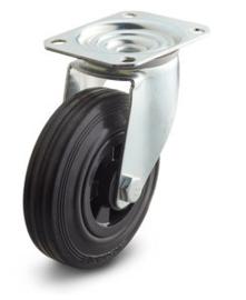Zwenkwiel zonder rem 125 MM