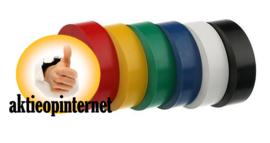 PVC Isolatieband 3.5 meter x 18 mm - 6 kleuren