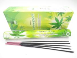 Cannabis wierook