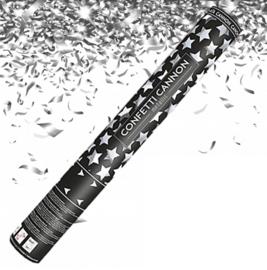 Confetti Kanon 60 cm Silver