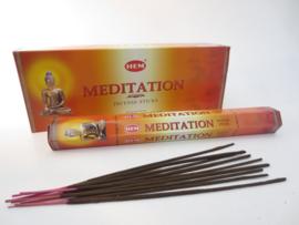 Meditation wierook Hem