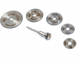 Multi-tool HSS zaag 6 delig