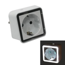 LED-Nachtlampje Met Schemeringssensor (Stopcontact)