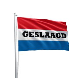 Gevelvlag Nederlandse vlag Geslaagd