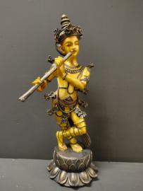 Boeddha beeld met fluit