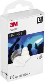 3M EAR - Soft FX - Transparant - Oortjes